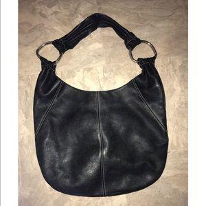 Black Tignanello Leather shoulder bag